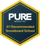 Recommended Snowboard Schools Badge
