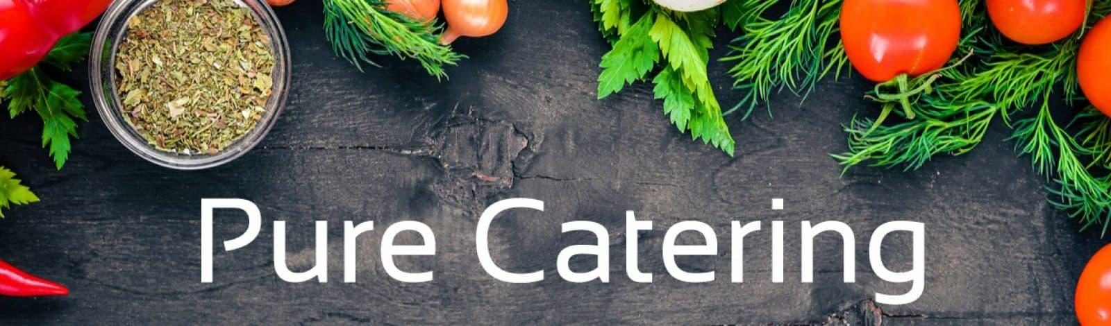 Pure Catering Header
