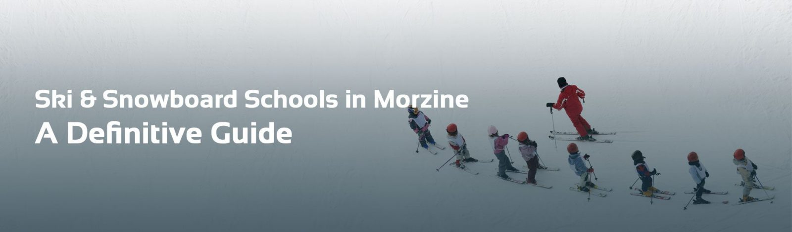 Ski Schools In Morzine Header