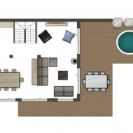 Chalet JJ Pure Morzine Floor Plan First Floor