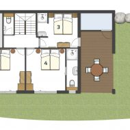 Chalet JJ Pure Morzine Floor Plan Ground Floor