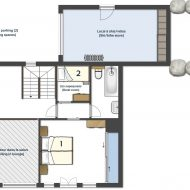 Chalet JJ Pure Morzine Floor Plan Second Floor