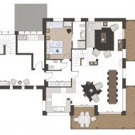 Chalet Super Morzine Pure Morzine Floor Plan First Floor