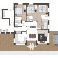 Chalet Super Morzine Pure Morzine Floor Plan Ground Floor