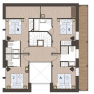 Chalet Super Morzine Pure Morzine Floor Plan Second Floor